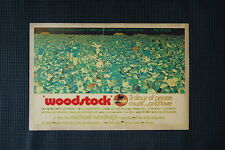 Woodstock Tour Poster 1969 #4