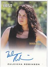 "2010 LOST ARCHIVES AUTO: ZULEIKHA ROBINSON - AUTOGRAPH ""HOMELAND/THE FOLLOWING"""