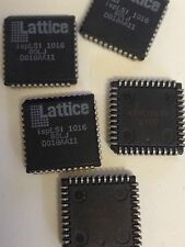 2x isplsi 1016 Lattice In-System Programmable High Density PLD 44 Pin PLCC 80MHZ