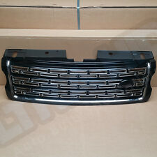 RANGE ROVER VOGUE 2014 FRONT GRILLE GLOSS BLACK AND CHROME SVR STYLE UK