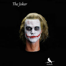 NEW 1/6 scale Head Sculpt Batman Joker Hair transplant Headplay Heath Ledger