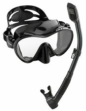 Scuba Diving Equipment Snorkeling Freediving Mask Snorkel Glasses Swimming Set
