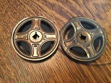 """VINTAGE 1930's 8MM 3 """" FILM REELS-CONTAIN HOME MOVIES FROM EARLY 1940S"""
