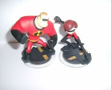 DISNEY INFINITY 1.0 3.0 2.0 Character Figure Mr. & Mrs. Incredible Fast Shipping