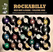 Rockabilly Vol. 1 - Red Hot & Rare VARIOUS ARTISTS Best Of 100 Songs NEW 4 CD
