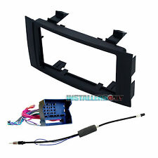 95-9009 Double-Din Radio Install Dash Kit w/Wires for Touareg, Car Stereo Mount
