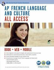AP® French Language & Culture All Access w/Audio: Book + Online +-ExLibrary