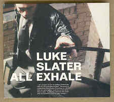Luke Slater - All Exhale Electropunk Mix Digipack CDS