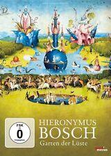 HIERONYMUS BOSCH-GARTEN DER LÜSTE - DOKUMENTATION   DVD NEU