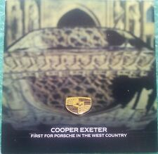 Early 1990s Cooper Porsche Exeter Brochure 911 928 959 Leaflet