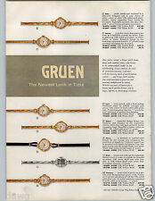 1958 PAPER AD 6 Pg Watches Gruen Autowind Embassy Power Chief Plaza Caliente