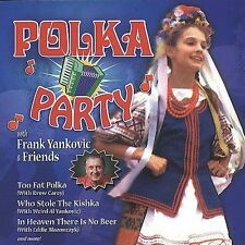"FRANK YANKOVIC, AND FRIENDS, CD ""POLKA PARTY"" NEW SEALED"