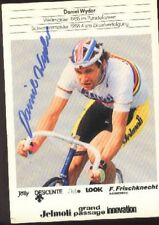 DANIEL WYDER Signed SWISS cyclisme Autograph cycling suisse tour World Champion