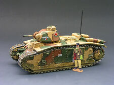 KING & COUNTRY FIELDS OF BATTLE FOB010 FRENCH CHAR B1 BIS TANK 2ND VERSION MIB