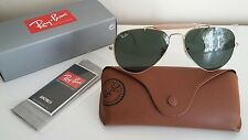 New Genuine RAY BAN SUNGLASSES. RB 3407 001. SIZE 58-14. 3N. MADE IN ITALY