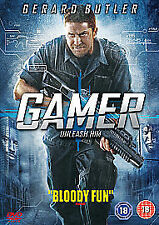 Gamer (DVD, 2010) DVD QUALITY CHECKED & FAST FREE P&P