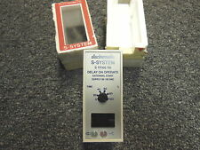 Electromatic S System S111166 115 Delay On Operate External start 95-135VAC
