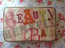 NEW⭐️⭐️BEAUTY BENEFIT⭐️⭐️Cosmetic VANITY Makeup Bag⭐️⭐️