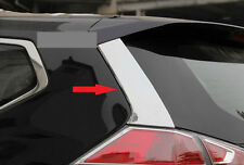 Rear Window Decorative Cover Trim for Nissan X-Trail Rogue 2014 2015 2016 Steel