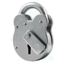 Asec FB1 4 Lever Old English Padlock London Fire Service Supplied with NO Keys