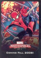 MARVEL MASTERPIECES SERIES 2 2008 UDE POINTS & PROMO INSERT CARD FOR SET 3