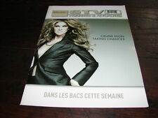 CELINE DION TAKING CHANGES!!!!!!!!!!!! RARE FRENCH ITEM