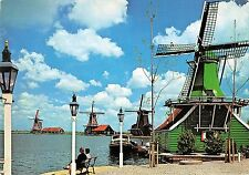 BT1171 zaanstad holland netherlands de zaanse sebans  windmill mill windmolen