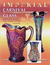 Imperial Carnival Glass incl. Imperial Jewel / Scarce Illustrated Book + Values