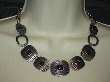 NWT Lia Sophia MODA NECKLACE  - DARK BLACK - $68 STYLISH (RARE) *CHRISTMAS GIFT