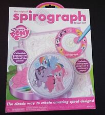 My Little Pony Spirograph Design Set Art Pad with Collectible Storage Tin-NEW