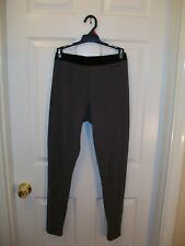 The North Face base layer leggings thermal tights gray & black size S woman 's