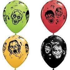 Zombie Latex Balloons, Birthday Party & Halloween Decor, Centerpiece, Gift Table