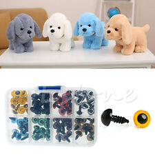 Hot 80Pcs 10mm 8 Colors Plastic Safety Eyes Washers For Teddy Bear Doll Animal