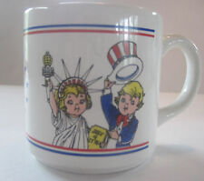 "Campbell's Soup Ceramic Coffee Mug - ""Campbell's Soups Salutes America"""
