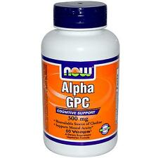 Alpha Gpc 300Mg 60 Vcaps NOW Foods