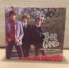 6 CD BOX SET  BEE GEES THE STUDIO ALBUMS 1967 - 1968 music VERY NICE COLLECTION