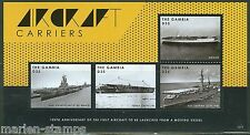 GAMBIA 2013 100th ANNIVERSARY OF THE 1st AIRCRAFT CARRIER  SHEET MINT NH
