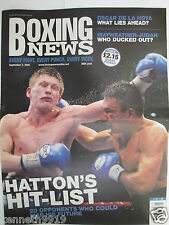 Boxing News  2 Sept 2005 Ricky Hatton