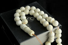 Baltic Amber Misbaha Muslim Rosary Islam Beads 30,3g - 11,5mm Succinite Prayer