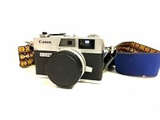 Vintage Canonet QL17 G-III with Bobby Lee Strap Untested (en)