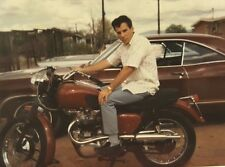 VINTAGE AMERICAN MUSCLE MOTORCYCLE 1960s VERNACULAR PHOTOGRAPHY POLAROID PHOTO