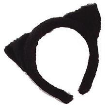 FURY NERO orecchie da gatto su fascia withces mici GATTO HALLOWEEN FANCY DRESS