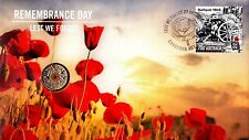 Australia - 2015 - Remembrance Day PNC ORANGE COIN SOLD OUT AT MINT