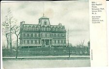 Early 1900's The Old People's Home in Union Hill, NJ New Jersey PC