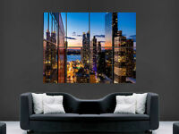 NEW YORK MANHATTEN SKYSCRAPERS  GIANT WALL POSTER ART PICTURE PRINT LARGE