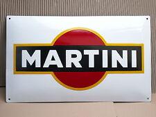 MARTINI Emailschild ECHT Emaille Schild 50 x 30 cm Enamel