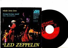 LED ZEPPELIN 7'' PS Whole Lotta Love ITALY ATL NP-03145 rare UNIQUE COVER 45