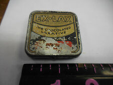 Ex Lax  Tablet Chocolate tin