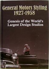 GENERAL MOTOR STYLING 1927 - 1958 Tracy Powell ISBN:0970919514 Car Book