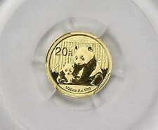 2012 ~ 20~YUAN ~ GOLD ~ CHINA PANDA ~ FIRST STRIKE ~ PCGS MS~69 ~ FLAG ~ $138.88